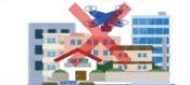 人家の密集地域での飛行禁止